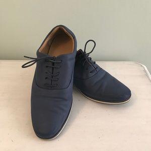 Zara Man navy blue shoes